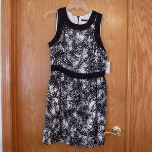 Kensie Empire Waist A-Line Dress